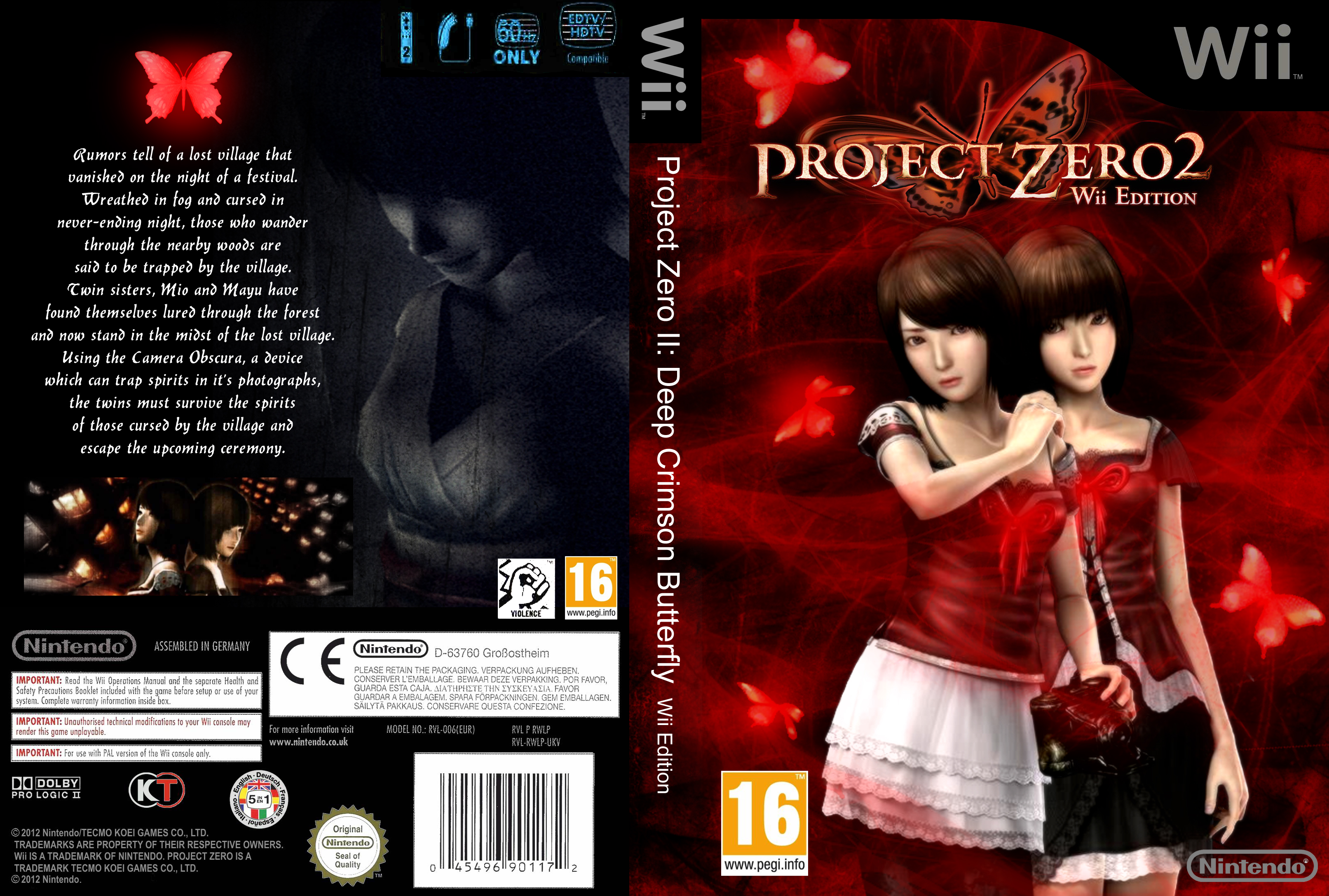 Project Zero 2: Deep Crimson Butterfly cover by HavenRelis on DeviantArt