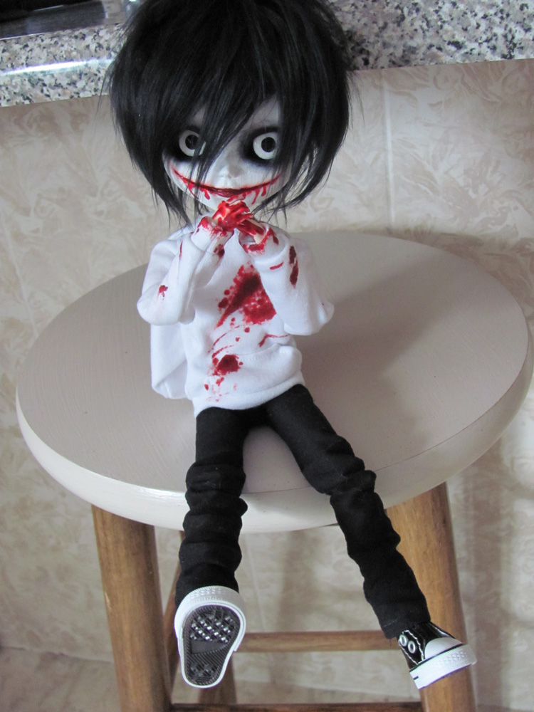 Как сделать куклу джека