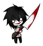 Jeff the Killer chibi