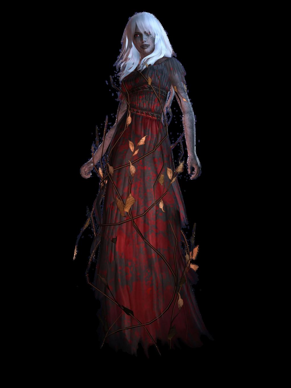 Spirit Camera: Woman In Black render