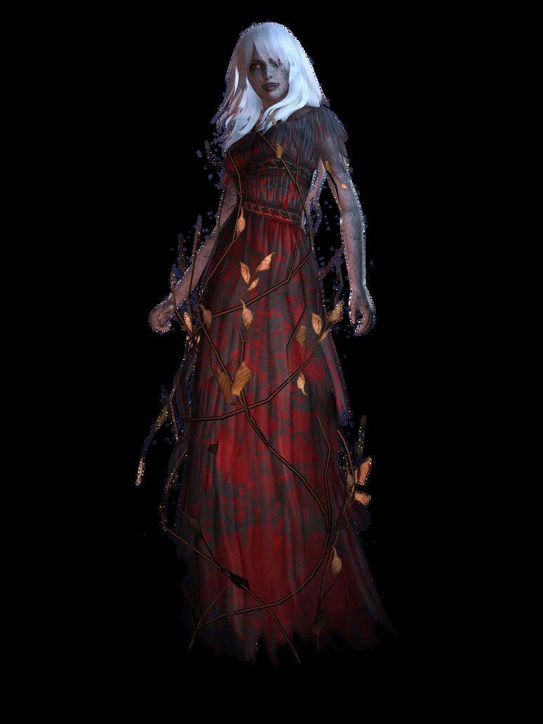 Spirit Camera: Woman In Black render by HavenRelis on DeviantArt