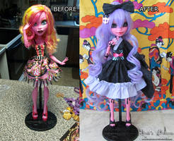 Gooliope to Umeko - Before and after