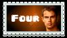 Four Headshot Stamp by ElizabethLizaAckles