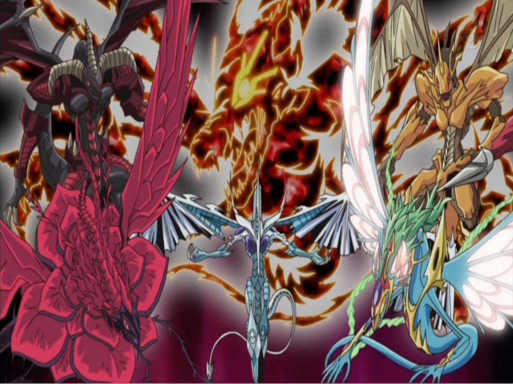 Yugioh 5ds Signers Yu-Gi-Oh 5D s Dragon Desktop