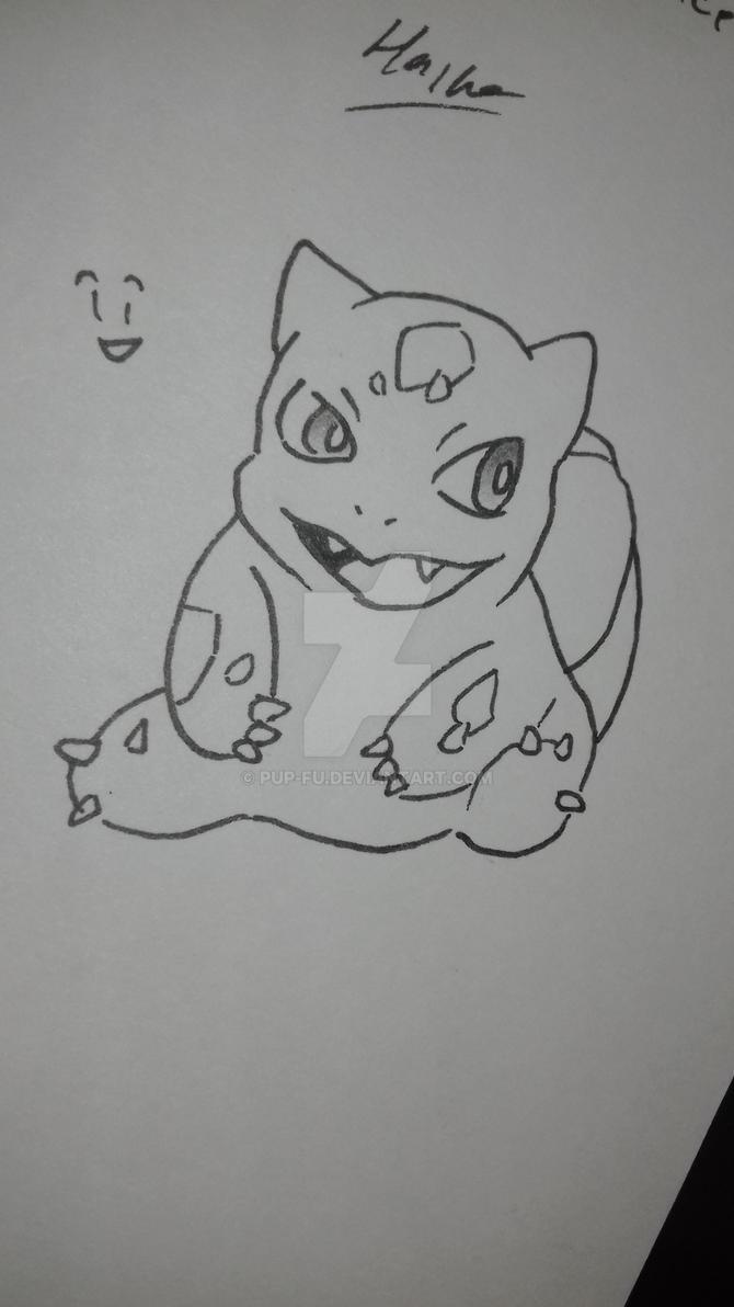 Bulbasaur 2 by pup-fu