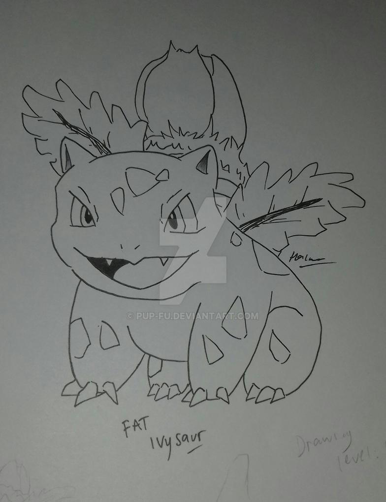 Ivysaur by pup-fu