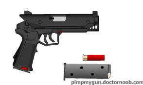 Clerks Pistol by VenomsEdge