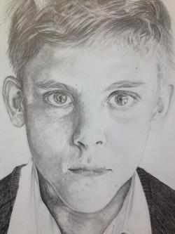 L'il bro (GCSE art response) by ArmageddonOuttaHere