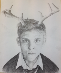 Antlered Child by ArmageddonOuttaHere
