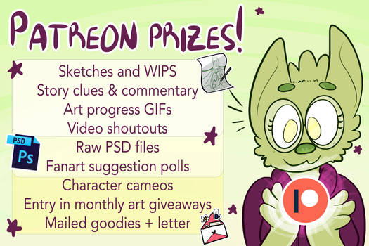 Awesome Rewards with Patreon