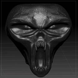 skull-like-head - first draft