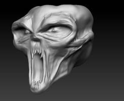 skull-like-head - second draft