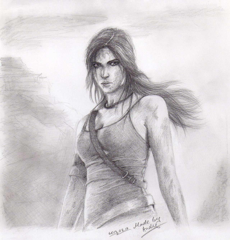 Tomb Raider 2013 Wallpaper: Tomb Raider: Lara Croft Reborn By RealTRgamer On DeviantArt