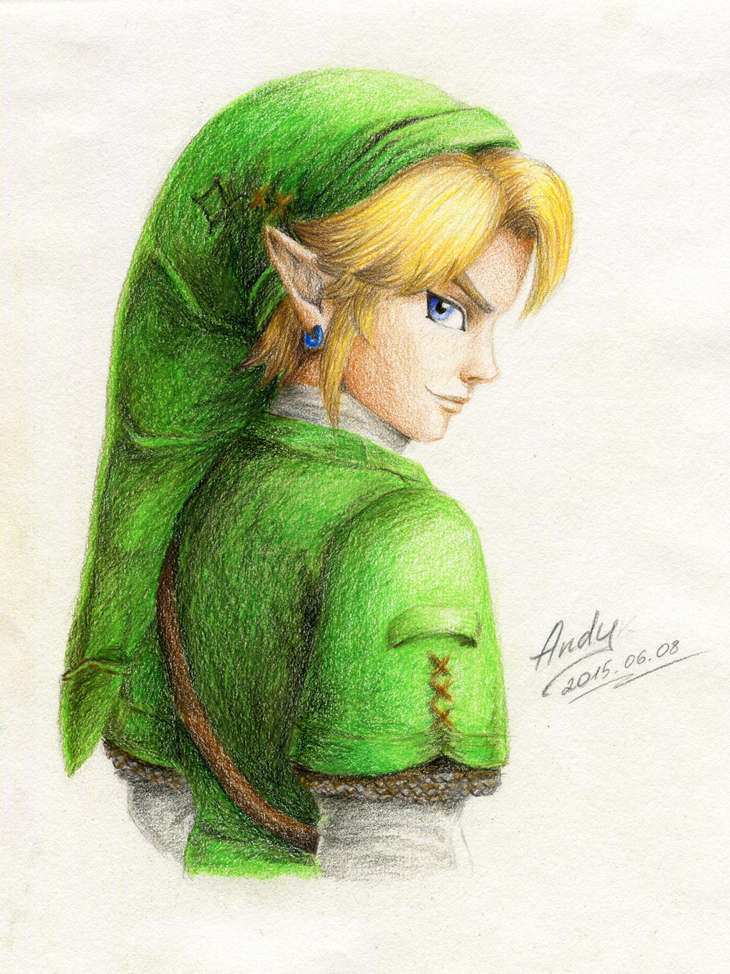 Colored Link by RealTRgamer