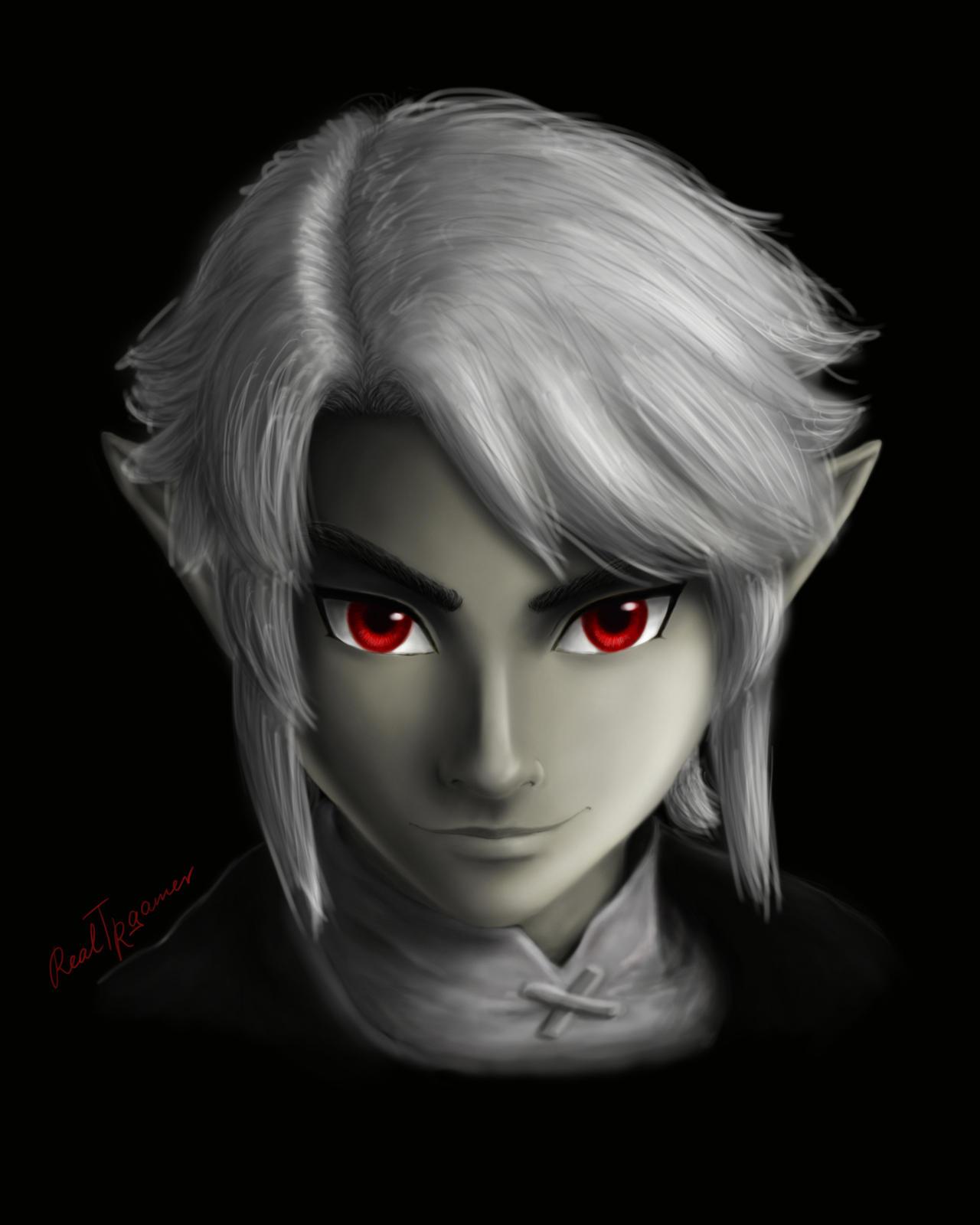 Scarlet Eyes by RealTRgamer