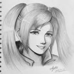 Fire Emblem - Female Robin sketch