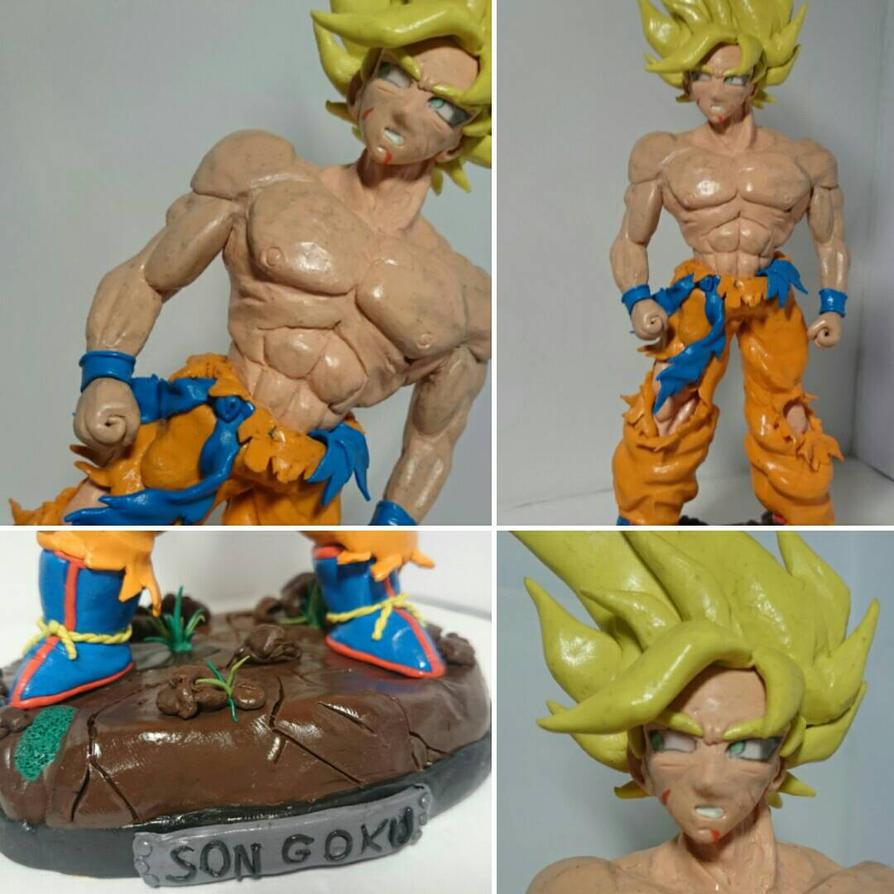 Son Goku from Dragon Ball by usernamedevianartcom