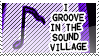 Sound Village Stamp by vdaymassacre