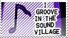 Sound Village Stamp by vdaymassacre