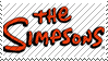 The Simpsons Stamp