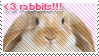 Rabbit Stamp by vdaymassacre