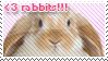 Rabbit Stamp by vdaymassacre