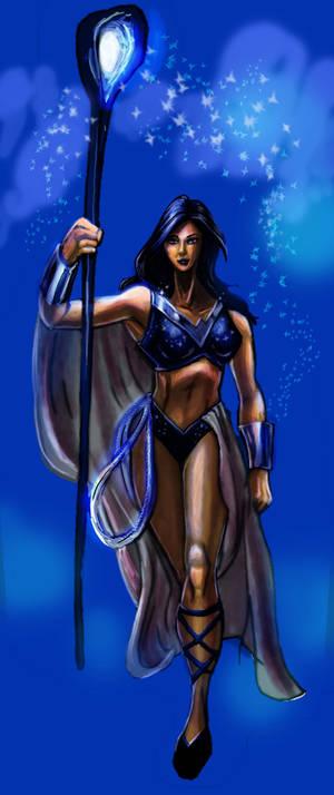 Donna Troy: Indigo Lantern