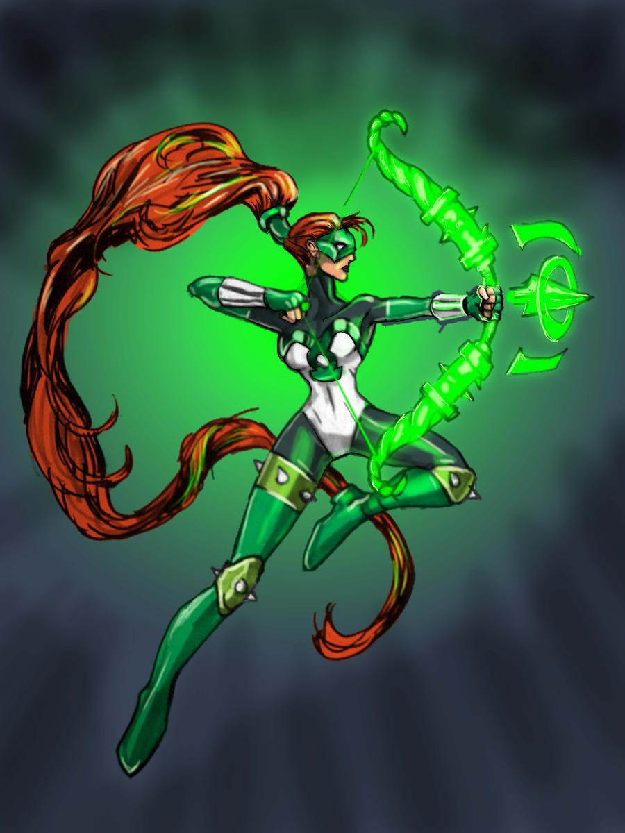 Artemis: Green Lantern by timothylaskey