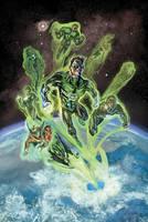 G is for Green Lantern by timothylaskey