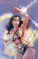 Wonder Woman 5-2011 by timothylaskey