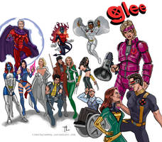 X-Men Glee Mash-Up by timothylaskey