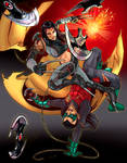 X-23 vs Robin Damian Wayne