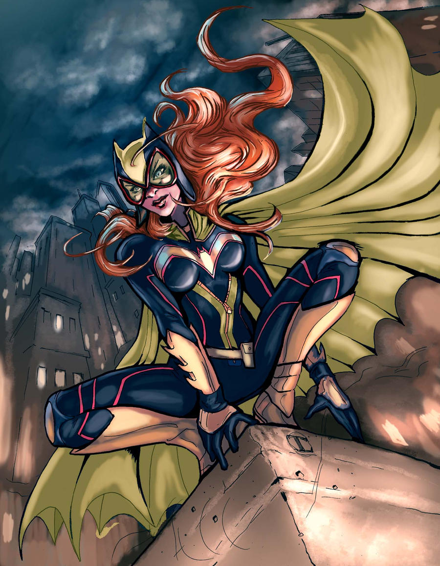 Batgirl ame-comi recolor by timothylaskey