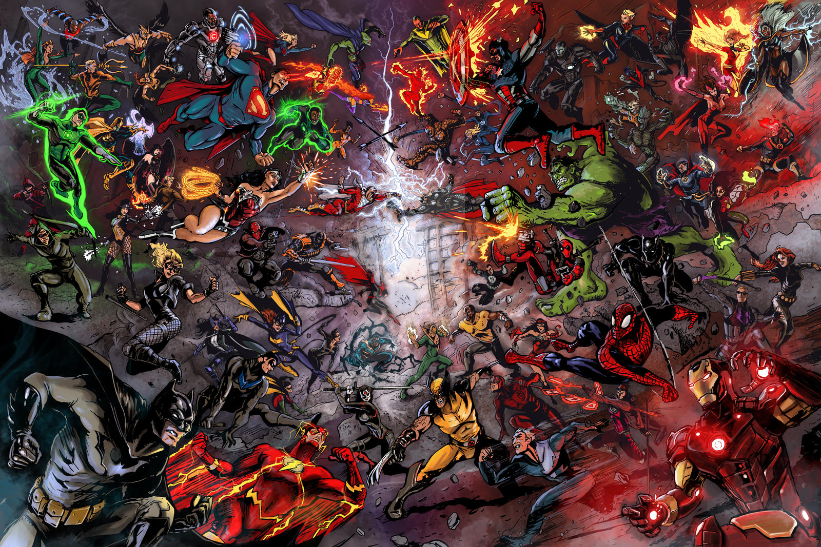 Dc vs Marvel: War of the Universes