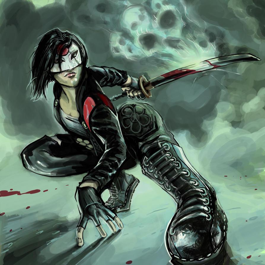 Katana (Suicide Squad) by timothylaskey