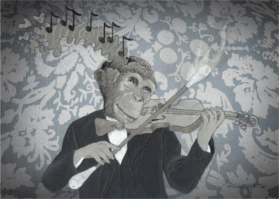 Violinny by willcrane