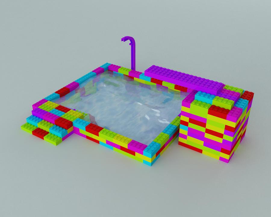 Piscina lego by lektracer on deviantart for Piscina lego friends