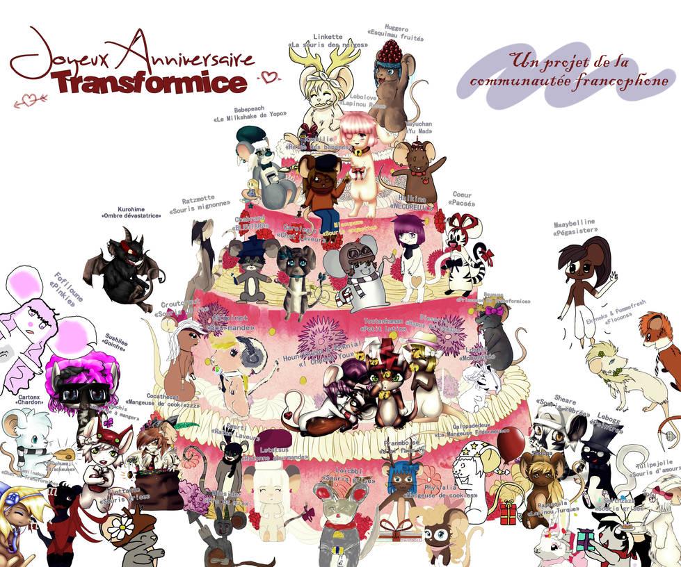 Joyeux anniversaire Transformice! by TFM-FR-FanArt