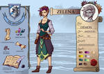WoE - Zelena character sheet