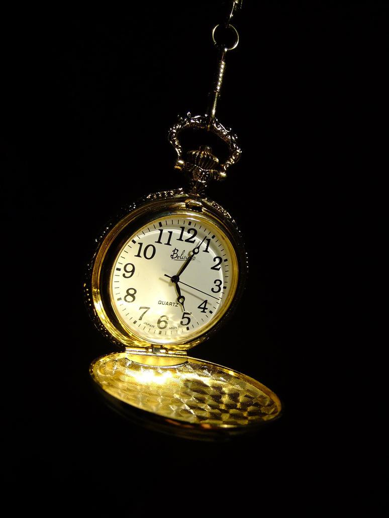 Pocket Watch by TheGhostVirus