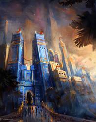 Gate of Babylon by ChrisOstrowski