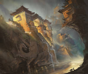 The Remote Monastery by ChrisOstrowski