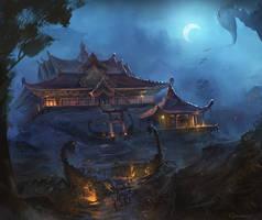 The Shadowed Estate by ChrisOstrowski