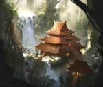 The Eternal Temple by ChrisOstrowski