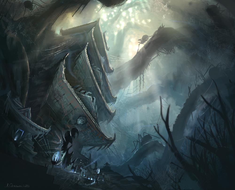 The Sinister Citadel by najtkriss