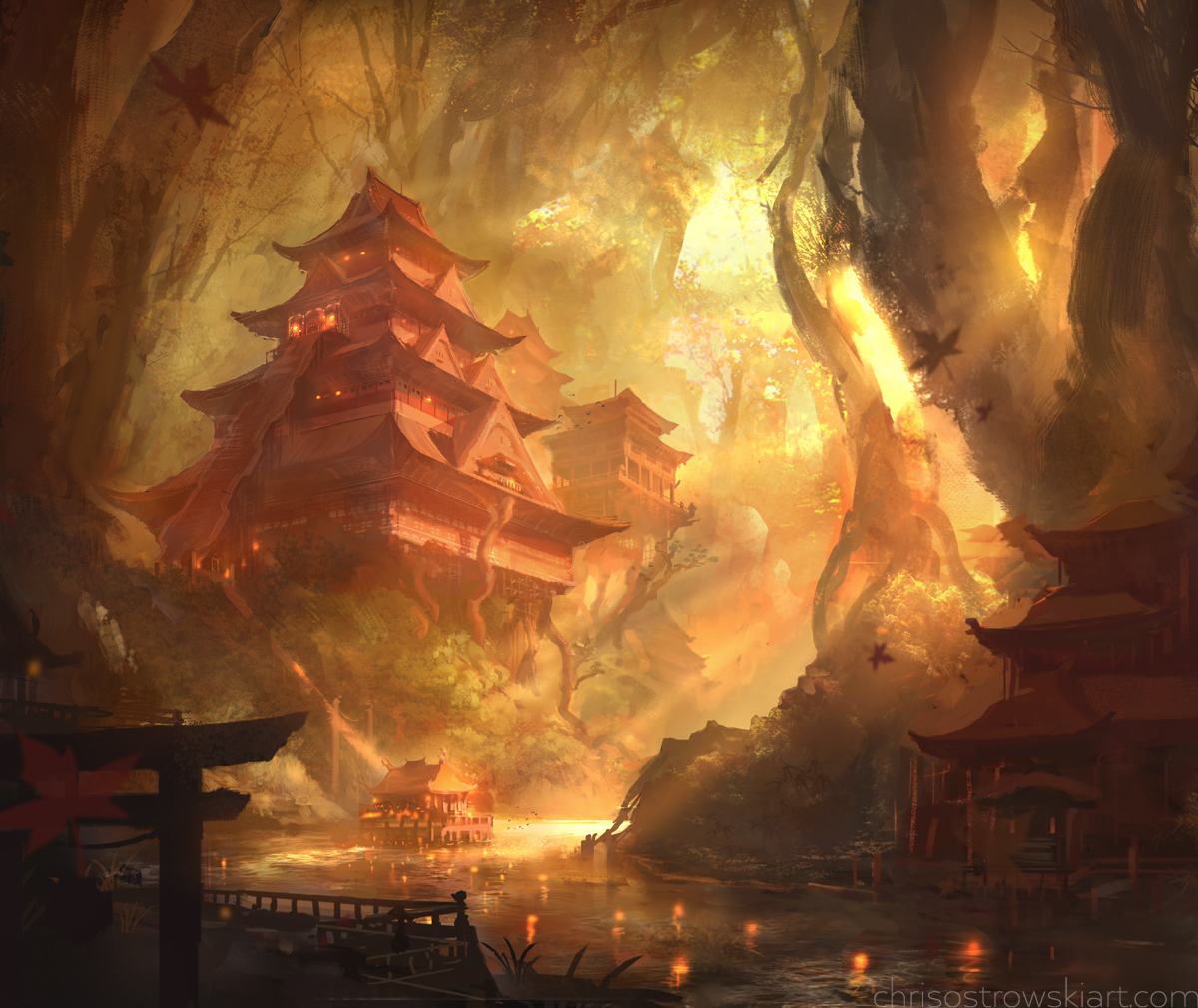 Temple Of Serenity by najtkriss