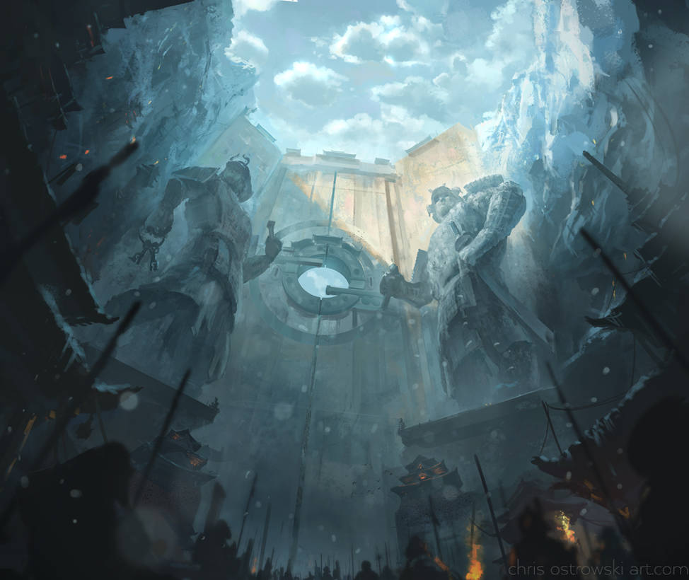Temple of the Heavenly Crab by ChrisOstrowski