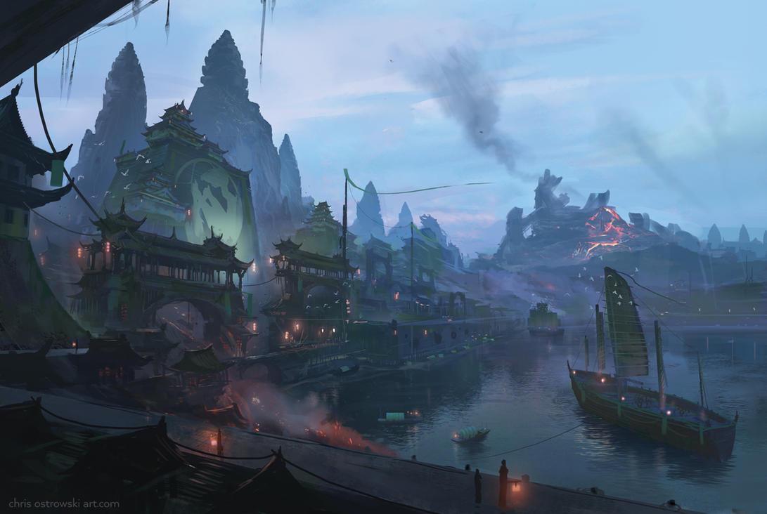 The Fruitful Port 2 by najtkriss