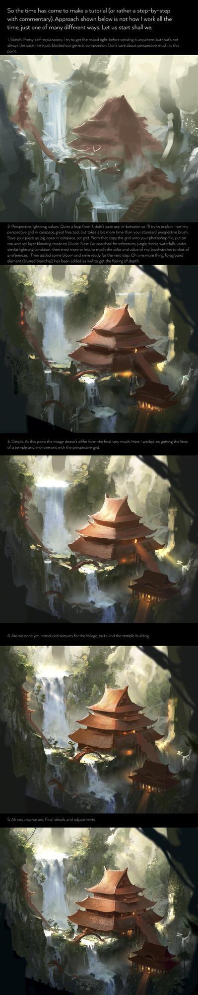 Eternal Temple - step by step by najtkriss