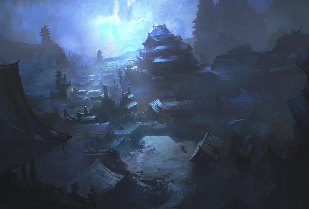 City of Night by najtkriss